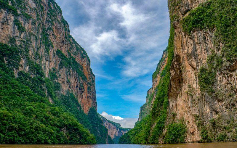 Malva Travel to Mexico - Sumidero Canyon